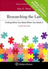 9781543813364-1543813364-Researching the Law: Finding What You Need When You Need It [Connected Casebook] (Aspen Coursebook)