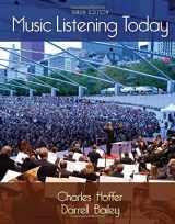 9781285858128-1285858123-Music Listening Today (with Digital Music Download Printed Access Card for the 4 CD Set)
