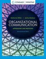 9781285164205-1285164202-Organizational Communication: Approaches and Processes