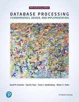 9780134802749-0134802748-Database Processing: Fundamentals, Design, and Implementation (15th Edition)