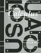 9781565771482-1565771486-Saxon Calculus with Trigonometry and Analytic Geometry
