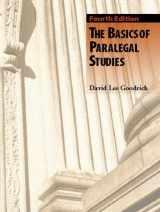 9780131121461-0131121464-Basics of Paralegal Studies, The