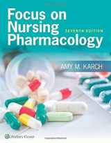 9781496318213-1496318218-Focus on Nursing Pharmacology