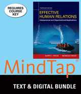 9781305937130-1305937139-Bundle: Effective Human Relations: Interpersonal And Organizational Applications, Loose-Leaf Version, 13th + MindTap Management, 1 term (6 months) Printed Access Card
