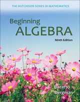 9780073384450-0073384453-Beginning Algebra (Hutchison Series on Mathematics)