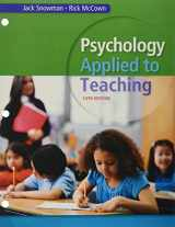 9781305623132-1305623134-Bundle: Psychology Applied to Teaching, Loose-leaf Version, 14th + MindTap Education, 1 term (6 months) Printed Access Card