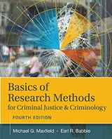 9781305261105-1305261100-Basics of Research Methods for Criminal Justice and Criminology