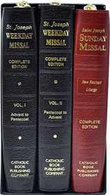 9780899428383-089942838X-St. Joseph Daily and Sunday Missals: Complete Gift Box 3-Volume Set