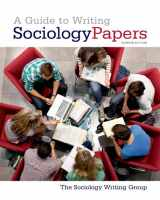 9781429234795-1429234792-A Guide to Writing Sociology Papers
