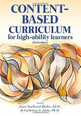 9781618215901-1618215906-Content-Based Curriculum for High-Ability Learners (3rd ed.)
