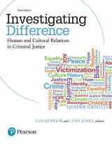 9780133012309-0133012301-Investigating Difference: Human and Cultural Relations in Criminal Justice (3rd Edition)