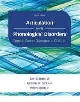 9780134170718-0134170717-Articulation and Phonological Disorders: Speech Sound Disorders in Children