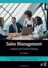 9780367252748-0367252740-Sales Management: Analysis and Decision Making