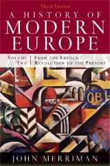 9780393933857-0393933857-A History of Modern Europe, Vol. 2: From the French Revolution to the Present, Third Edition