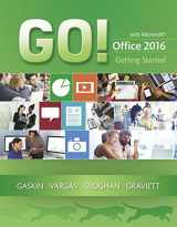 9780134497068-0134497066-GO! with Microsoft Office 2016 Getting Started (GO! for Office 2016 Series)
