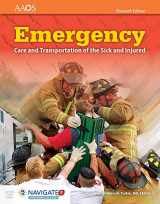 9781284107029-1284107027-Emergency Care and Transportation of the Sick and Injured (Book & Navigate 2 Preferred Access) 11th Edition (Orange Book)