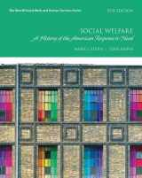 9780134449913-0134449916-Social Welfare: A History of the American Response to Need (Merrill Social Work and Human Services)