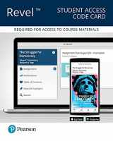9780134551760-0134551761-Revel for The Struggle for Democracy, 2016 Presidential Election Edition -- Access Card (12th Edition)