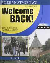 9780757563430-0757563430-Russian Stage Two: Welcome Back! (The Russian-american Collaborative Series: Russian in Stages: Stage Two)