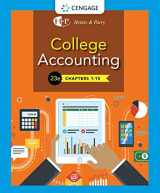 9781337794763-1337794767-College Accounting, Chapters 1- 15