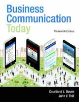 9780133867558-0133867552-Business Communication Today (13th Edition)
