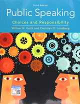 9780357039083-0357039084-Public Speaking: Choices and Responsibility (MindTap Course List)