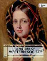 9781457677106-1457677105-A History of Western Society Since 1300 for the AP® Course: with Bedford Integrated Media