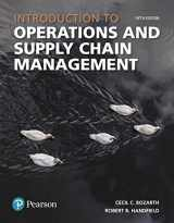 9780134740607-0134740602-Introduction to Operations and Supply Chain Management (5th Edition) (What's New in Operations Management)