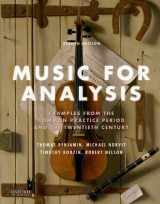 9780190620752-0190620757-Music for Analysis: Examples from the Common Practice Period and the Twentieth Century