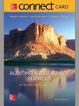 9781259292040-1259292045-Connect 2-Semester Access Card for Auditing & Assurance Services: A Systematic Approach