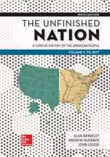 9781260164831-1260164837-Looseleaf for The Unfinished Nation: A Concise History of the American People Volume 1