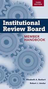 9781449647445-1449647448-Institutional Review Board Member Handbook