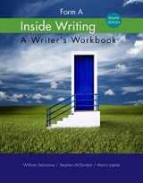 9781285443546-1285443543-Inside Writing: Form A