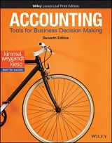 9781119494782-1119494788-Accounting: Tools for Business Decision Making