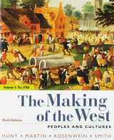 9781319103651-1319103650-The Making of the West, Volume 1: To 1750: Peoples and Cultures