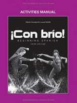 9781118350386-1118350383-¡Con brío!: Beginning Spanish, Activities Manual (Spanish Edition)
