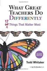 9781596671997-1596671998-What Great Teachers Do Differently: 17 Things That Matter Most 2nd Edition