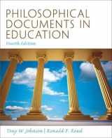 9780137080380-0137080387-Philosophical Documents in Education (4th Edition)