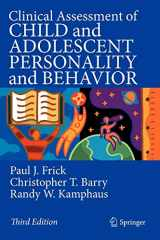 9780387896427-0387896422-Clinical Assessment of Child and Adolescent Personality and Behavior