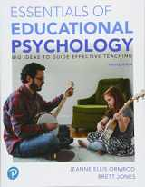 9780134995205-0134995201-Essentials of Educational Psychology: Big Ideas To Guide Effective Teaching, plus MyLab Education with Pearson eText -- Access Card Package (Myeducationlab)