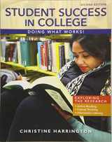 9781285852171-1285852176-Student Success in College: Doing What Works!