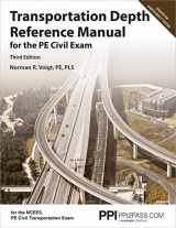 9781591266235-1591266238-PPI Transportation Depth Reference Manual for the PE Civil Exam, 3rd Edition – A Complete Reference Manual for the NCEES PE Civil Transportation Exam