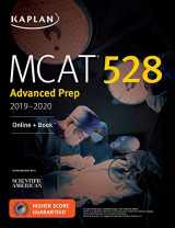 9781506235325-1506235328-MCAT 528 Advanced Prep 2019-2020: Online + Book (Kaplan Test Prep)