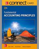 9781259693878-1259693872-Connect Access Card for Fundamental Accounting Principles