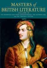 9780321334008-0321334000-Masters of British Literature, Volume B