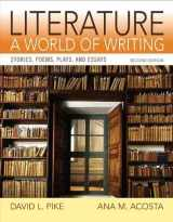 9780205886234-020588623X-Literature: A World of Writing Stories, Poems, Plays and Essays