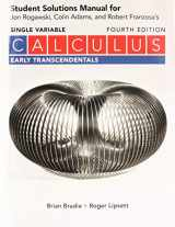 9781319254421-131925442X-Student Solutions Manual for Calculus Early Transcendentals (Single Variable)