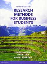 9781292016627-1292016620-Research Methods for Business Students (7th Edition)