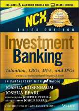 9781119706182-1119706181-Investment Banking: Valuation, LBOs, M&A, and IPOs (Includes Valuation Models + Online Course) 3rd Edition (Wiley Finance)