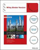 9781119231240-1119231248-Elementary Principles of Chemical Processes 4e Binder Ready Version + WileyPLUS Registration Card (Wiley Plus Products)